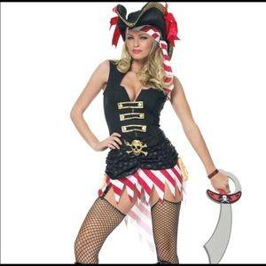 Captain Marauder- Pirate Halloween costume Medium
